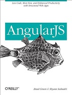 Book cover of AngularJS