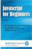 Book cover of Javascript for beginners
