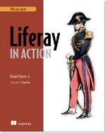 Book cover of Liferay in Action