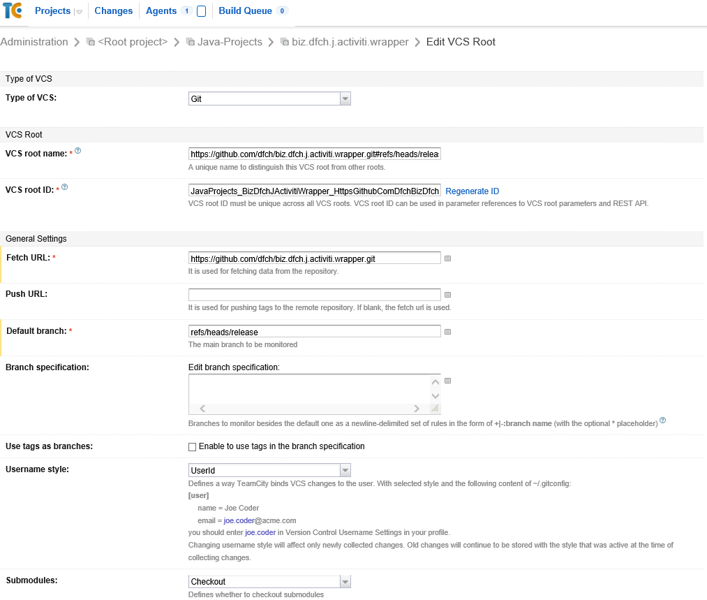 HOWTO Maven Release on JetBrains TeamCity – blog rufer be